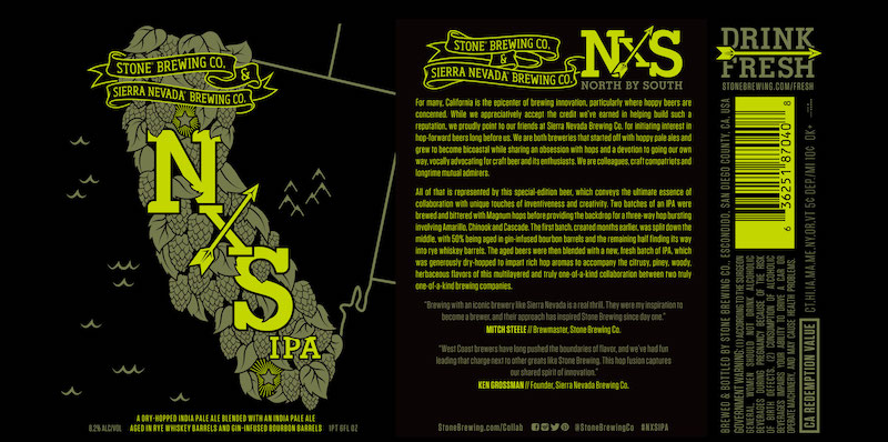 Stone Brewing Sierra Nevada Brewing NxS