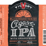 Victory Brewing Kicks off Blackboard Series with Agave IPA with Grapefruit
