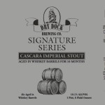 Dry Dock Brewing Cascara Imperial Stout Release Details