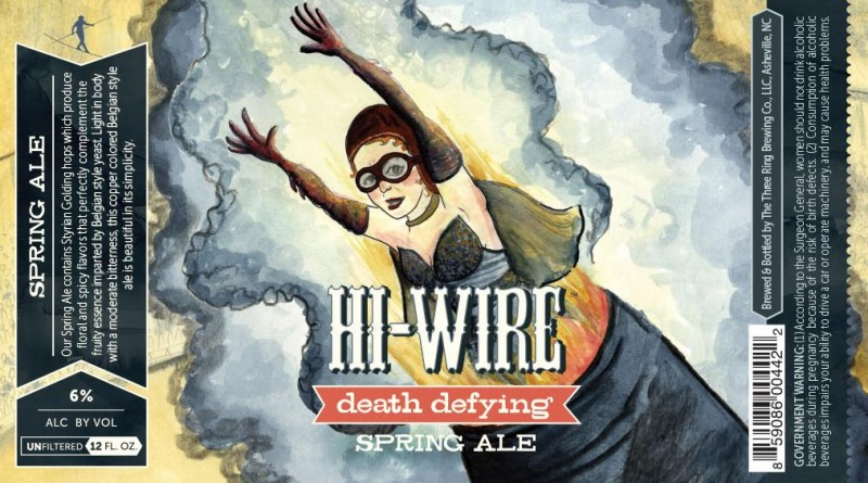 Hi-Wire Brewing - Death Defying Spring Ale