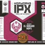 Hopworks Releases Organic El Dorado Single Hop IPX