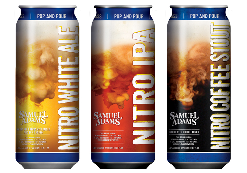 Samuel Adams Nitro Beer Project