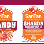 SanTan Brewing Grapefruit Shandy, New Spring Sesonal