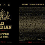 Stone Brewing Tweaks This Year's Batch of Old Guardian