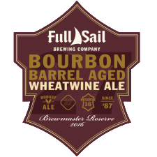 Full Sail Bourbon Barrel Aged Wheat Wine