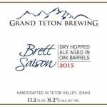Grand Teton Brewing Releases Brett Saison Batch 2