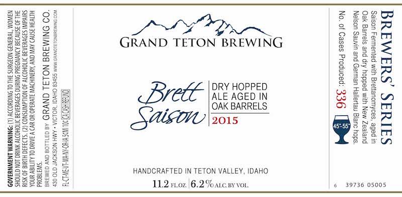 Grand Teton Brett Saison