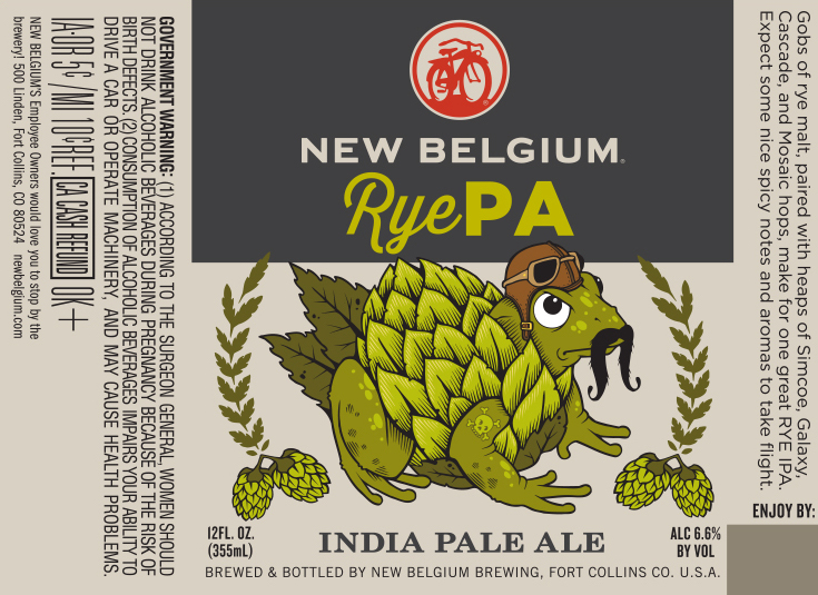 New Belgium RyePA