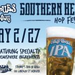 Oskar Blues Southern Hemisphere Hop Festival Beer List