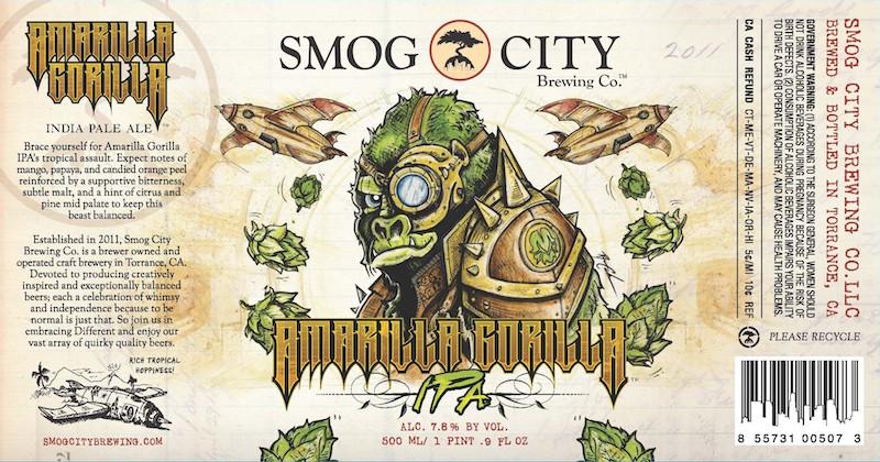 Smog City Amarilla Gorilla