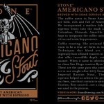 Introducing Stone Americano Stout