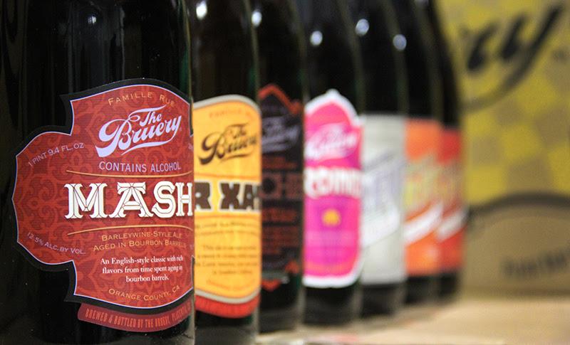 The Bruery Bottles