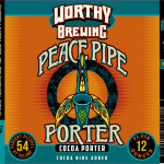 Worthy Brewing Releases Seasonal Peace Pipe Porter