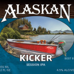 Alaskan Kicker Session IPA, New Year Round Offering