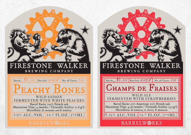 Peachy Bones and Champs de Fraises
