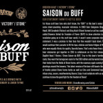 Dogfish Head / Victory / Stone Saison du BUFF Returns