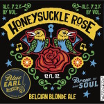 Blue Earl Brewing Announces Honeysuckle Rose, Available Year Round
