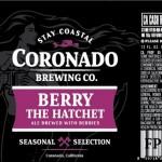 Coronado Brewing Berry The Hatchet, Newest Seasonal Beer