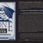 Stone 6th Anniversary Porter Returns for 20th Anniversary Encore Series