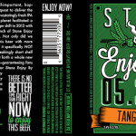 Stone Enjoy By 05.30.16 Tangerine IPA Is Now Ripe for The Picking