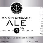 River North Brewery Releases Anniversary Ale 4 1/4