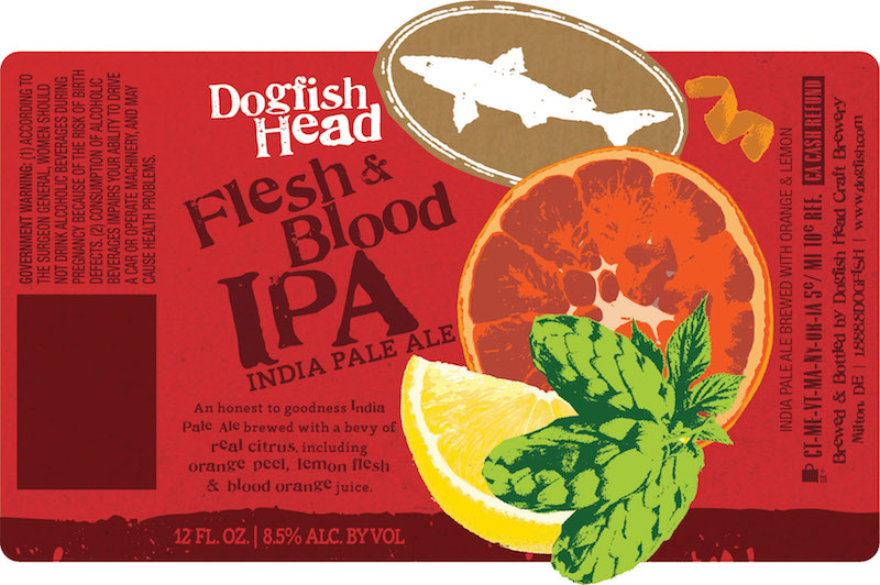 Dogfish Head Flesh & Blood IPA