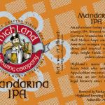 Highland Brewing Mandarina IPA Hits Shelves This Month
