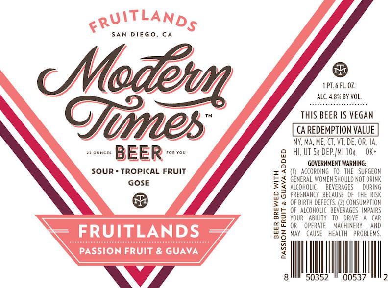 Modern Times Passionfruit n Guava Fruitlands