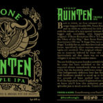 Stone RuinTen Triple IPA Celebrates Fifth Straight Year