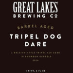 Great Lakes Brewing Bottles Barrel Aged Tripel Dog Dare