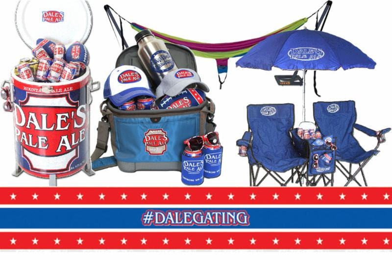Oskar Blues - DALEgating Schwag