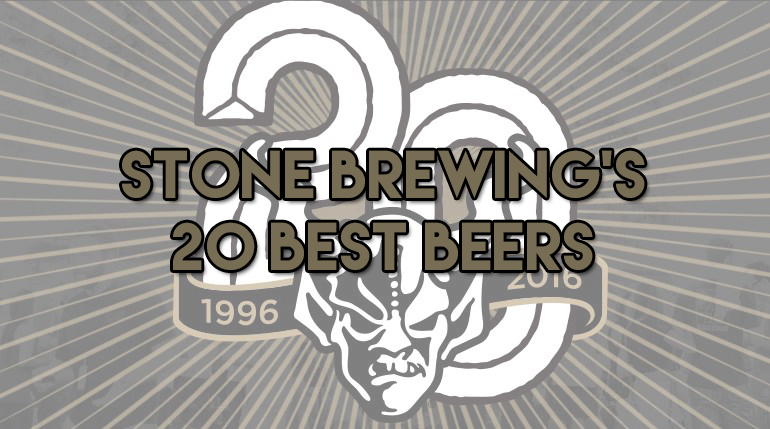 Stone Brewing's 20 Best Beers