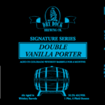Dry Dock Brewing Company Releases Signature Series Double Vanilla Porter