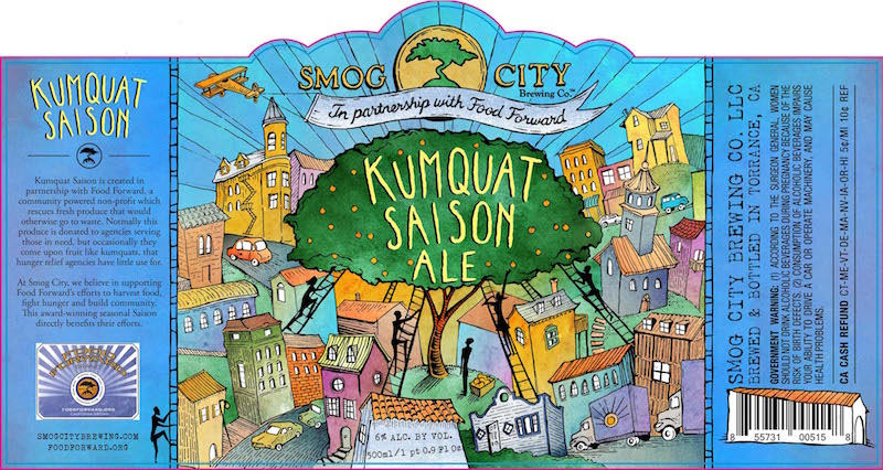 Smog City Kumquat Saison