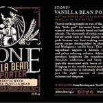 Stone Vanilla Bean Porter Debuts Within Cabin Fever Mixed 12 Pack