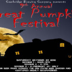 Cambridge Brewing's Great Pumpkin Festival