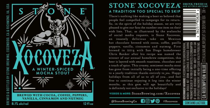 Stone Xocoveza 2016