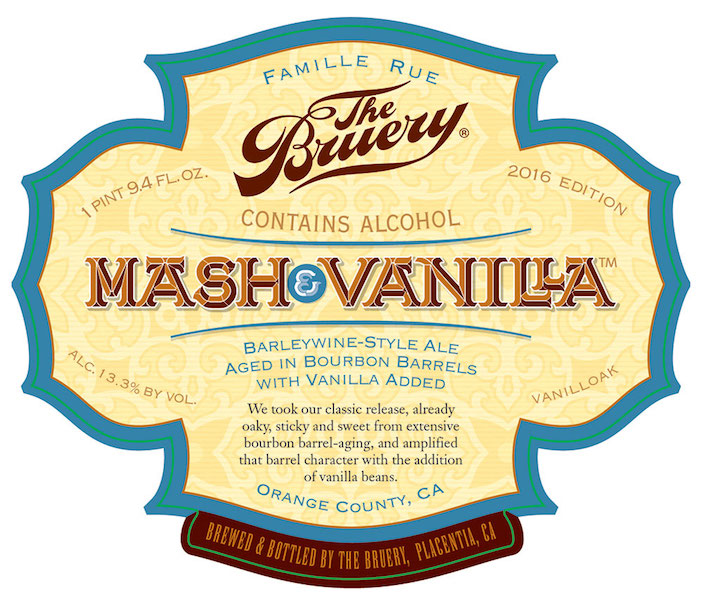 The Bruery Mash and Vanilla
