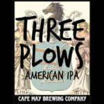 Cape May Brewing Three Plows IPA, Made With All NJ Ingredients