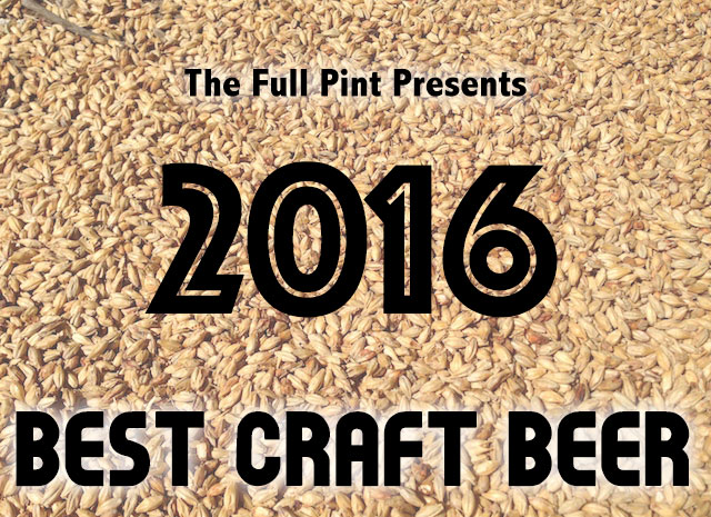 Best Craft Beer of 2016