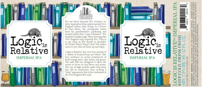 Fiction Beer Co - Logic is Relative