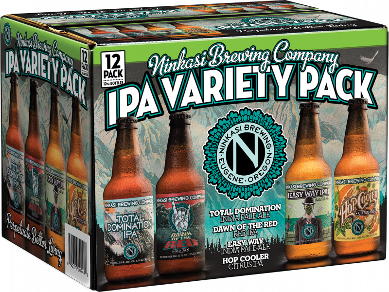 Ninkasi Brewing - IPA Variety 12 Pack