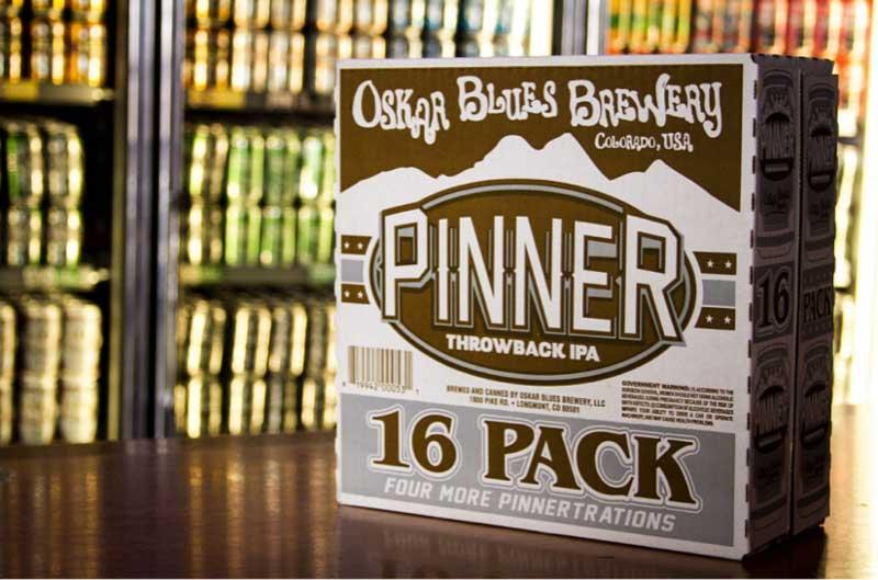 Oskar Blues Pinner 16 Pack