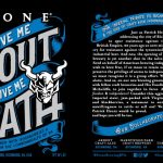 Stone Give Me Stout or Give Me Death, A Collaboration Celebrating Virginia Craft Beer