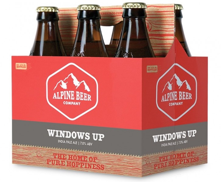 Alpine Windows Up IPA