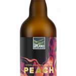 Upland Brewing's Wood Shop Launches Peach & Iridescent This Month