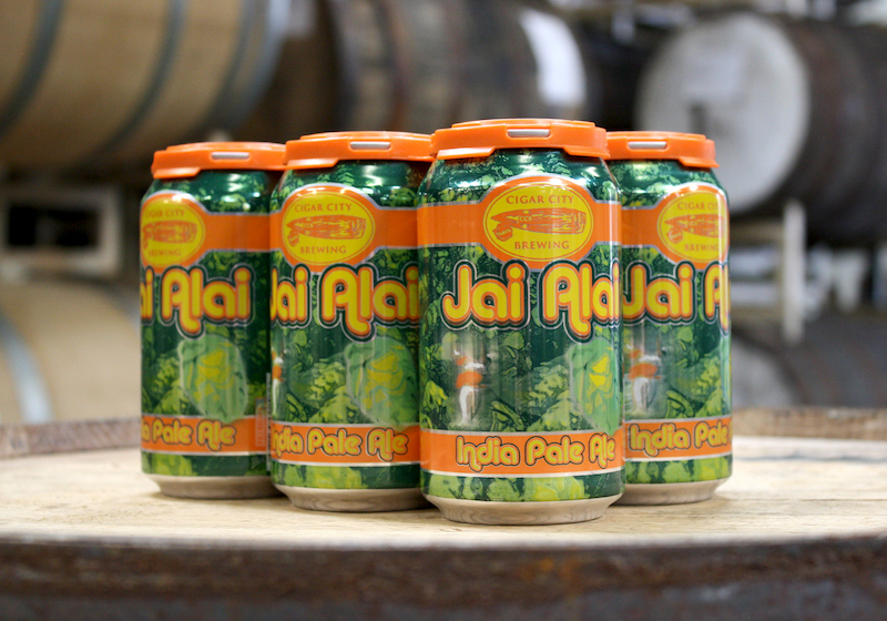 Cigar City Jai Alai Cans