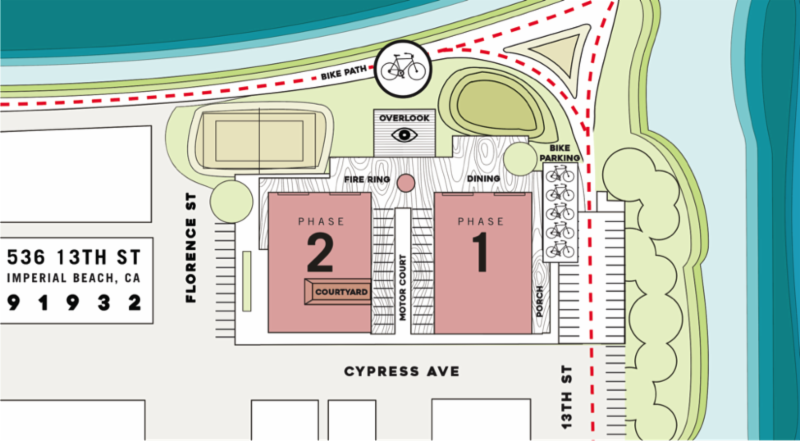 Coronado Brewery - Bikeway Village (Map)