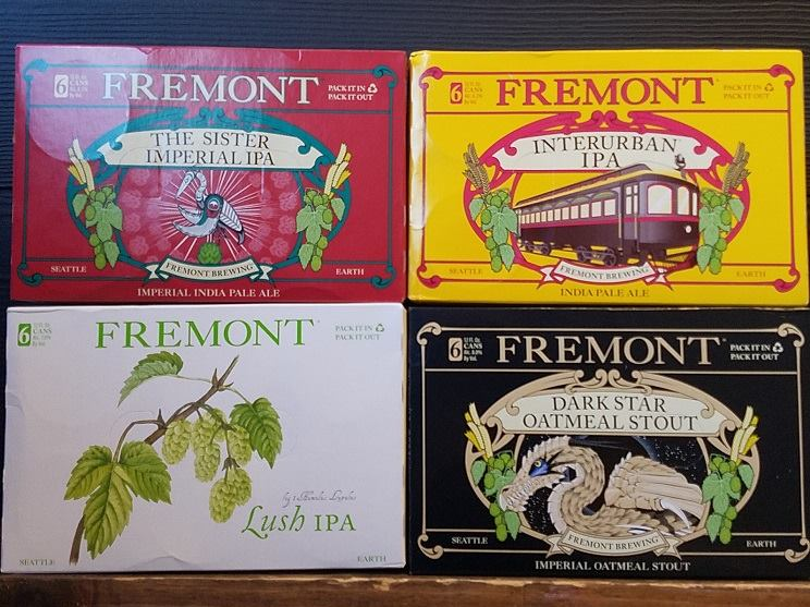 Fremont Brewing from Bine and Vine