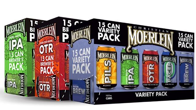 Moerlein Brewers Packs